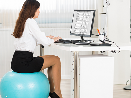 Using a Stability Ball at Work? Know the rules.
