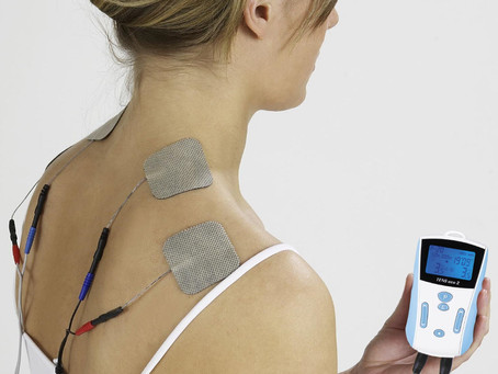 TENS for Back Pain.  The little device that makes a big difference.