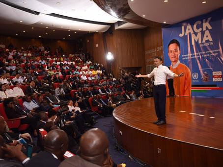 [Jack Ma in Kenya]馬雲老師非洲開講:中國企業經驗可助非洲青年創業