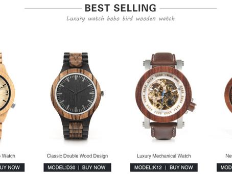 [Aliexpress成功電商]紅木手錶阿里速賣通造?是的,它在美國賣瘋了