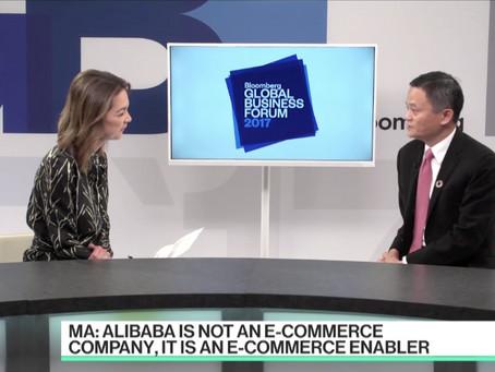 馬雲對話彭博:為小企業賦能,才是互聯網行業最好的事