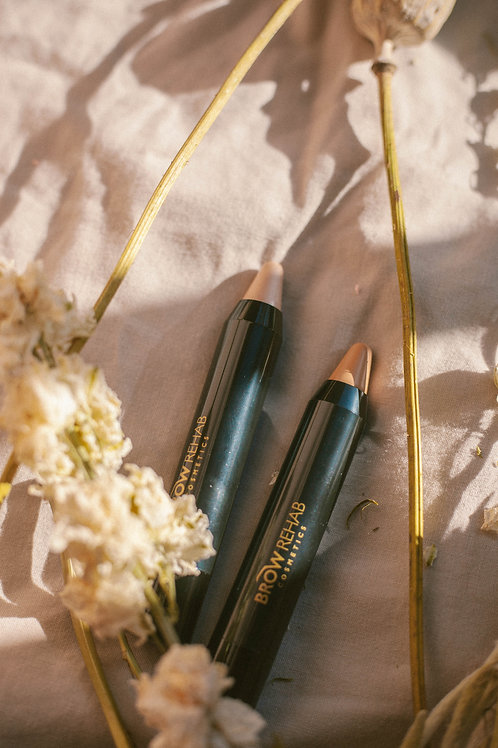 Duo 4: Brow Highlighters - Matte + Champagne