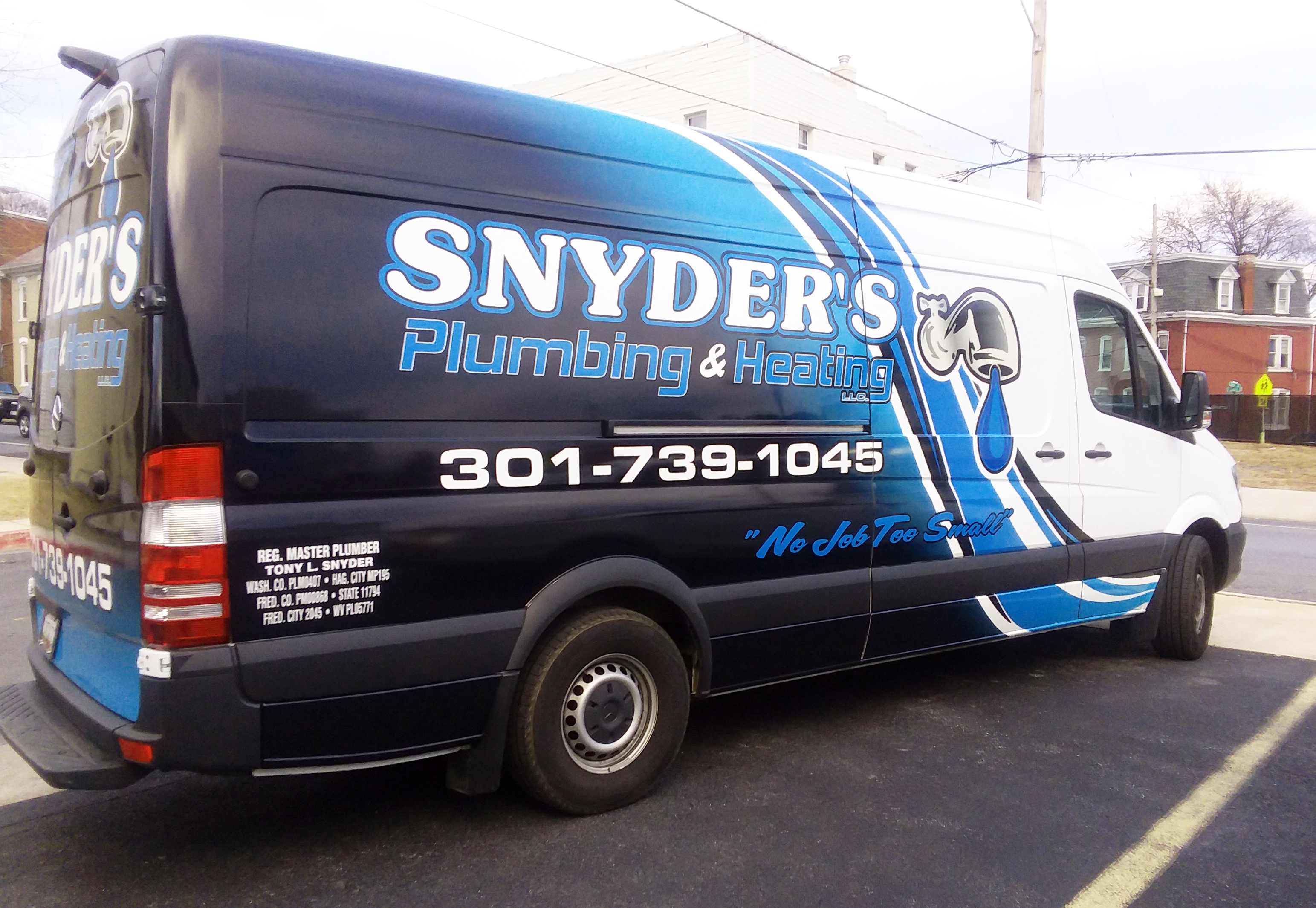 Snyder's Plumbing & Heating wrap