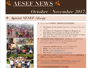 AESEF NEWS | Octobre - Novembre 2017