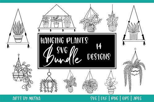 Hanging Plants Svg