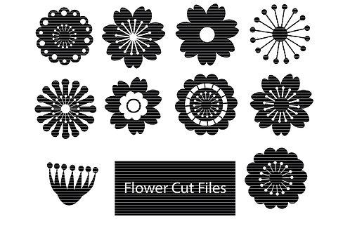 Flower Set Svg