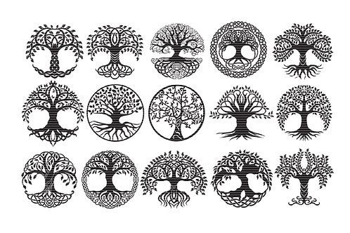 Tree Of Life Svg Clip Art Bundle