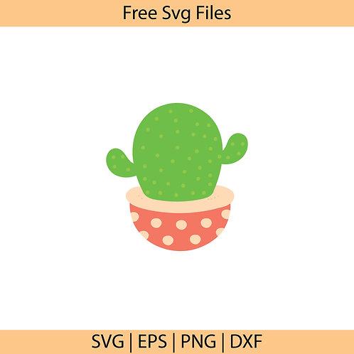 Cactus Plant Svg