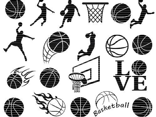 Basket Ball Svg Bundle