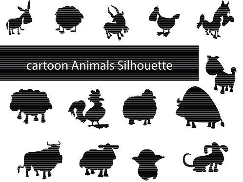 Cartoon Animals Svg File