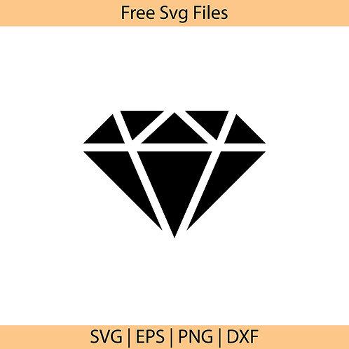 Diamond Cut Svg
