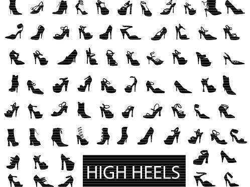 High Heels Svg Bundle