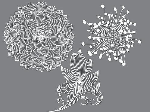 Flower Cut File Svg