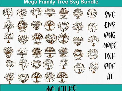 Family Tree Svg Bundle