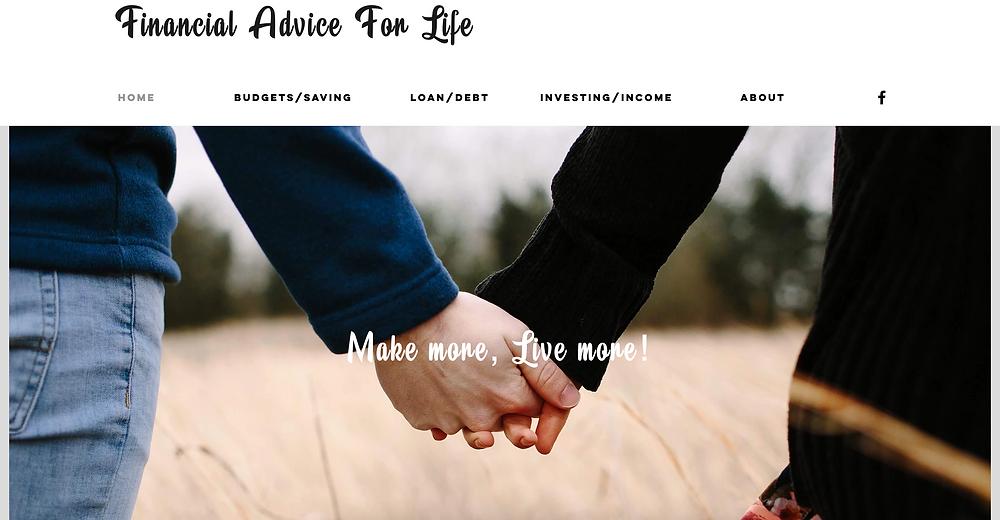Screenshot of centsofmarriage.com