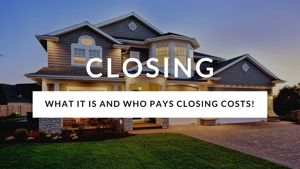 who pays what closing costs