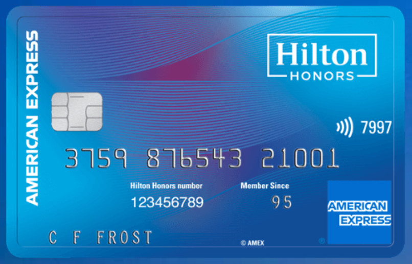Travel rewards card