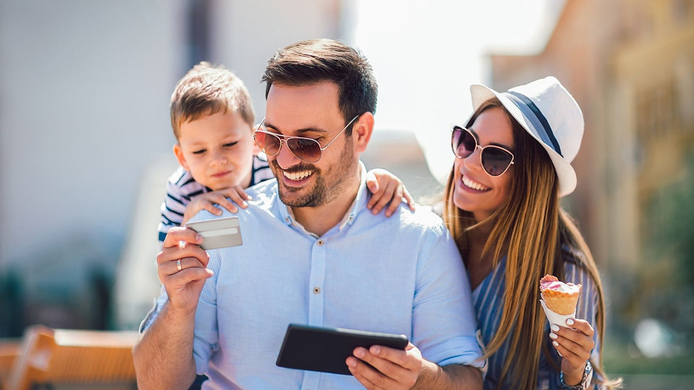 Travel with rewards credit cards