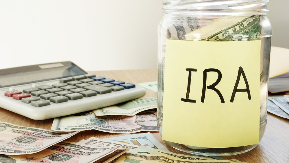 Invest your money into an IRA