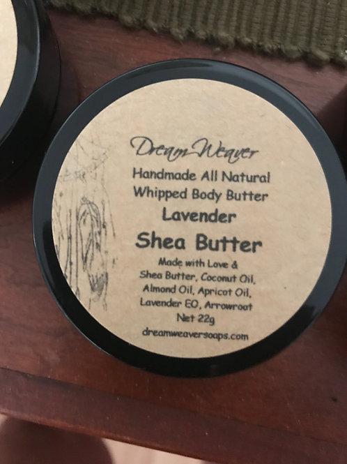 Lavender Whipped Shea Butter 22g