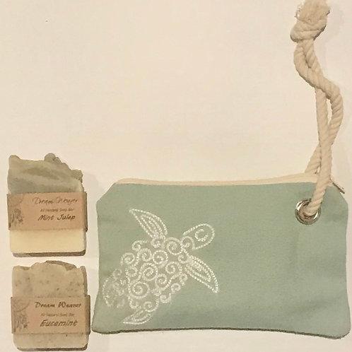 Turtle Soap Set