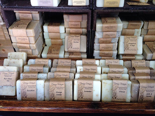 12 Full Size Soap Bars - Limited Time 20% OFF