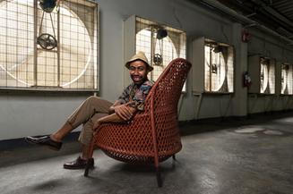 Designer Stephen Burks at Dedon Philippines