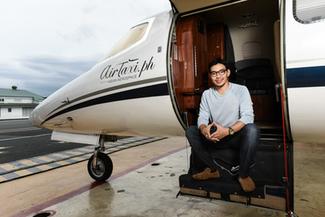 Paj Rodriguez of AirTaxi PH