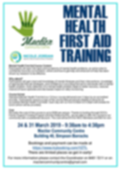 Mental Health First Aid Training Flyer.p