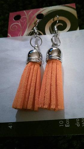 Sm Orange Flogger Earrings