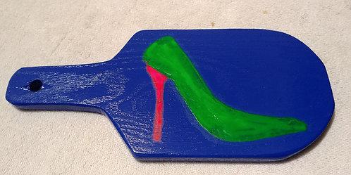 Green Neon Heel Paddle