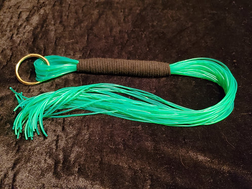 Neon Green Jellycord Flogger