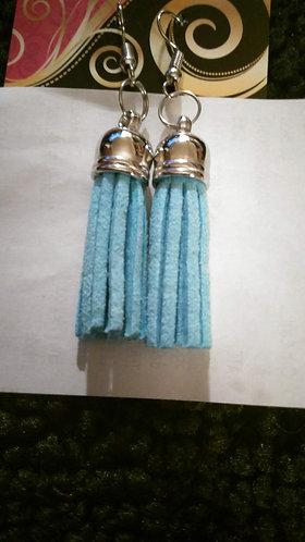 Sm Lt. Blue Flogger Earrings