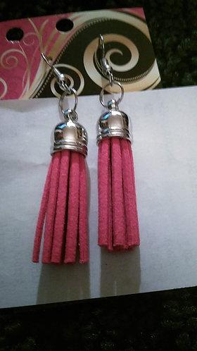 Sm Red Flogger Earrings