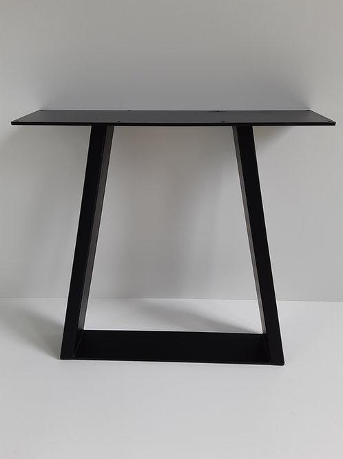 Schwarzstahl Tischgestell