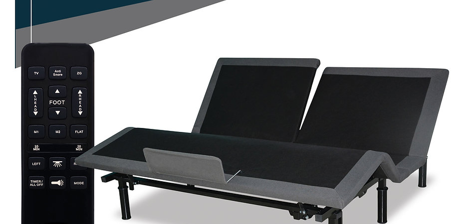 300 Series Split Queen, Split top Adjustable Bed