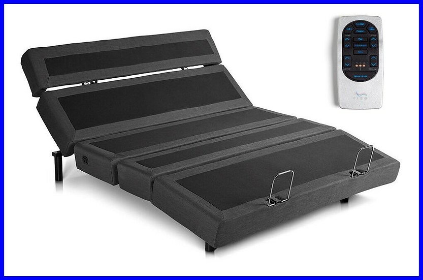 Contemporary 3 Adjustable Lumbar Base with memory foam mattresses.