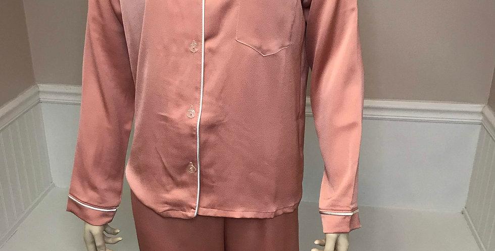 Spring Rose Long Sleeve/Pant PJ Set