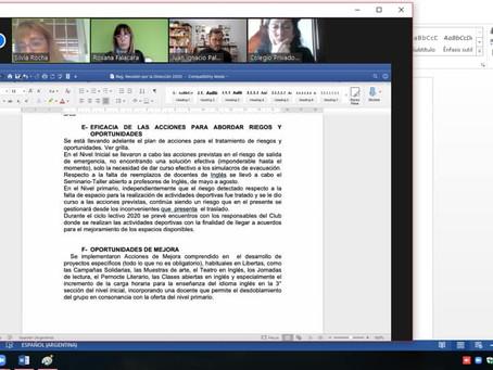 Inicial y primario certificaron calidad educativa bajo normas ISO 9001 versión 2015