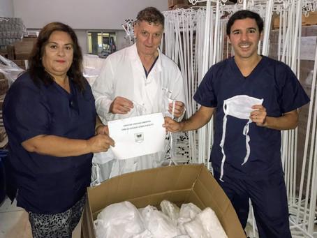 Donamos 3000 barbijos al Hospital Municipal