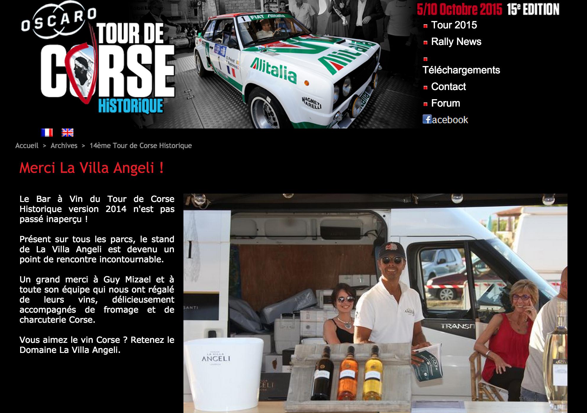 Tour de Corse 2014