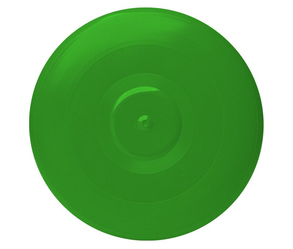 Green Frisbee