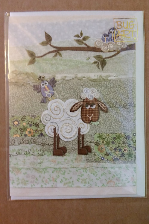 Nest wool card