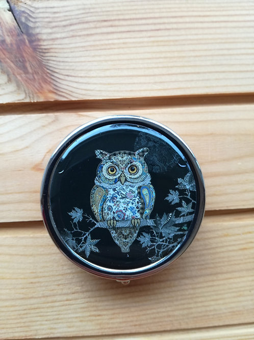 Owl pill case
