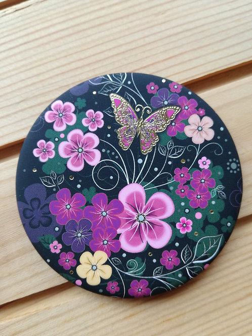 Flower Round  Magnet