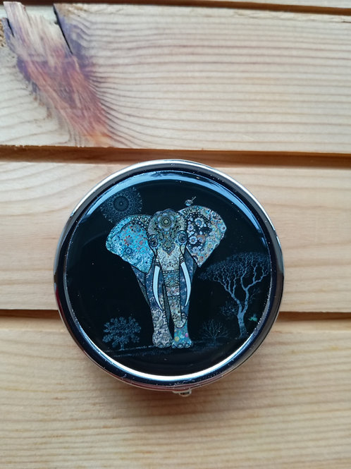 Elephant pill case