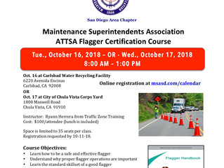 ATTSA Flagger Certification Course
