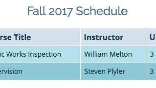Fall 2017 Classes - Palomar College