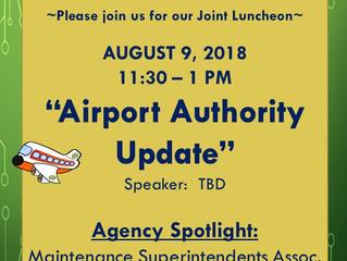 Joint Meeting - APWA and MSA - Aug. 9, 2018