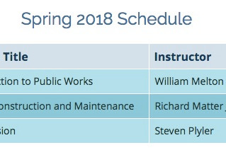 Spring 2018 Classes - Palomar College